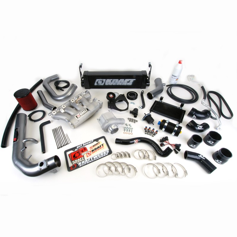 Kraftwerks 12-15 Civic Si Race Supercharger Kit (With Tuning Hondata Flashpro)