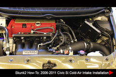 Resources - Skunk2 How-To: '06-'11 Civic Si Cold-Air Intake Install